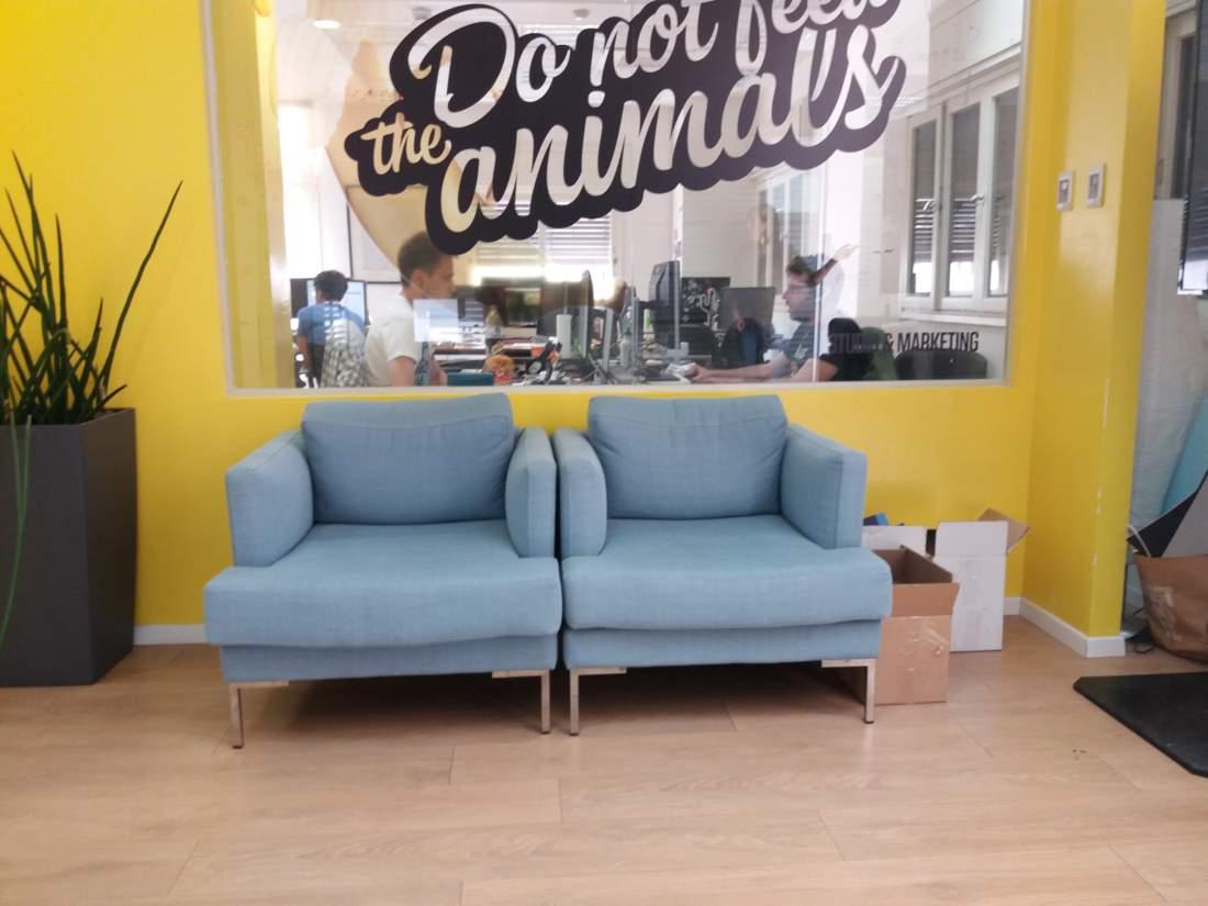 משרד עם חלוקה נהדרת ברחוב לילינבלום.