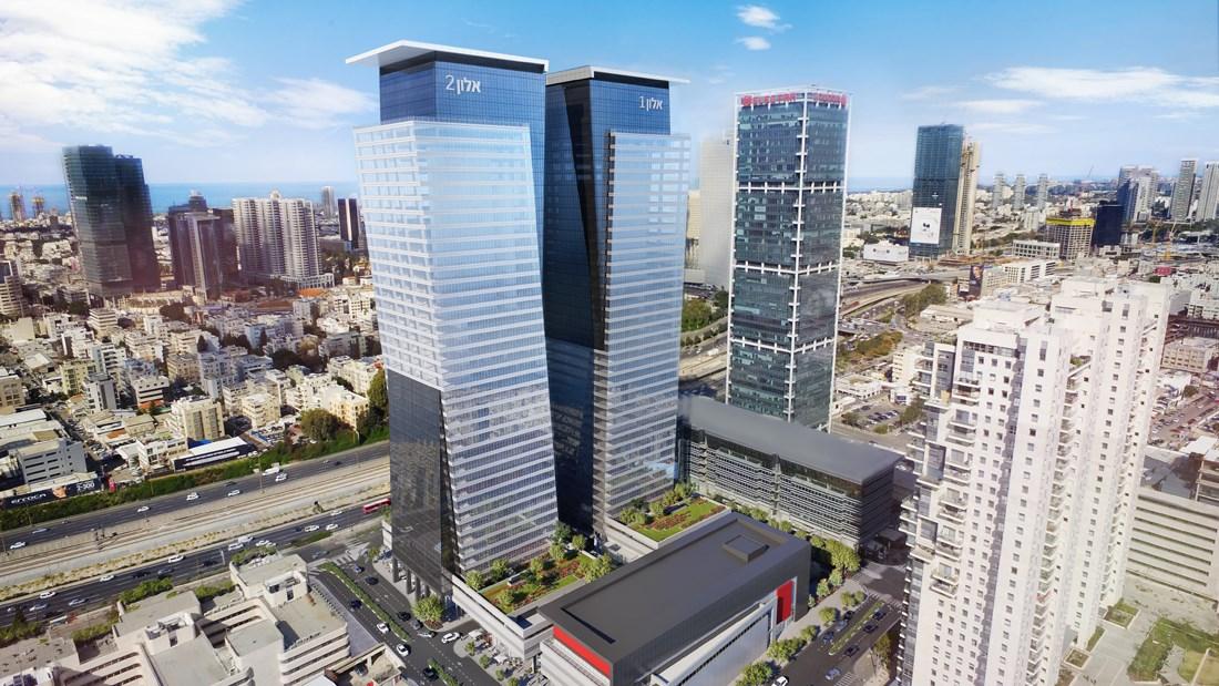משרד משופץ ברמת גימור גבוהה במגדלי אלון היוקרתיים.