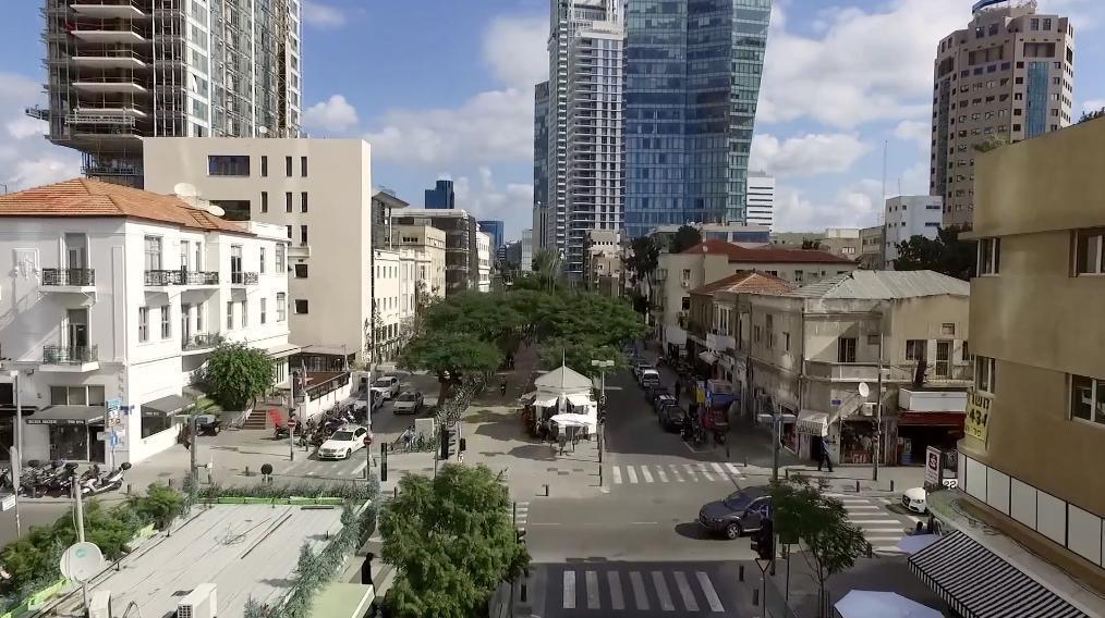 בניין משרדים עצמאי חדש בלב שדרות רוטשילד תל אביב.