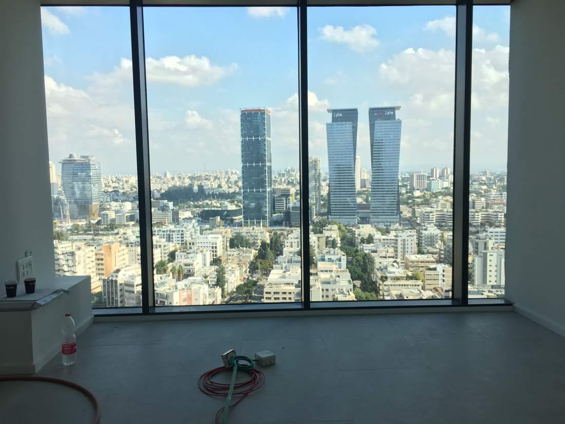 80 מ״ר להשכרה בקומה גבוהה במגדלי חג׳ג׳.