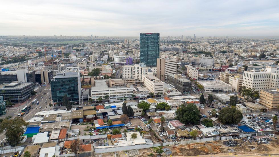 קומה גבוהה למכירה בפרוייקט עתידי בתל אביב.
