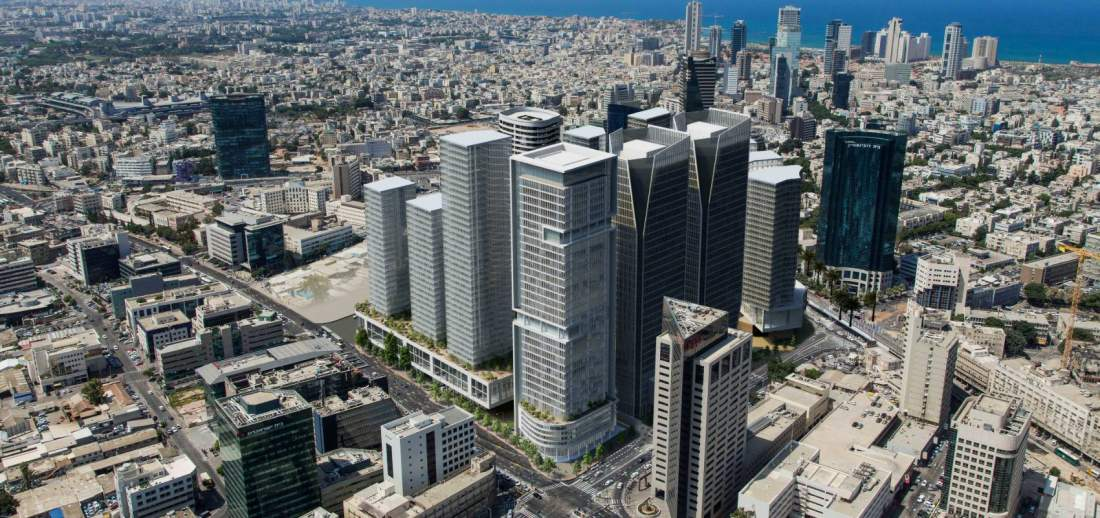 285 מטר למכירה במתחם הבא של תל אביב.