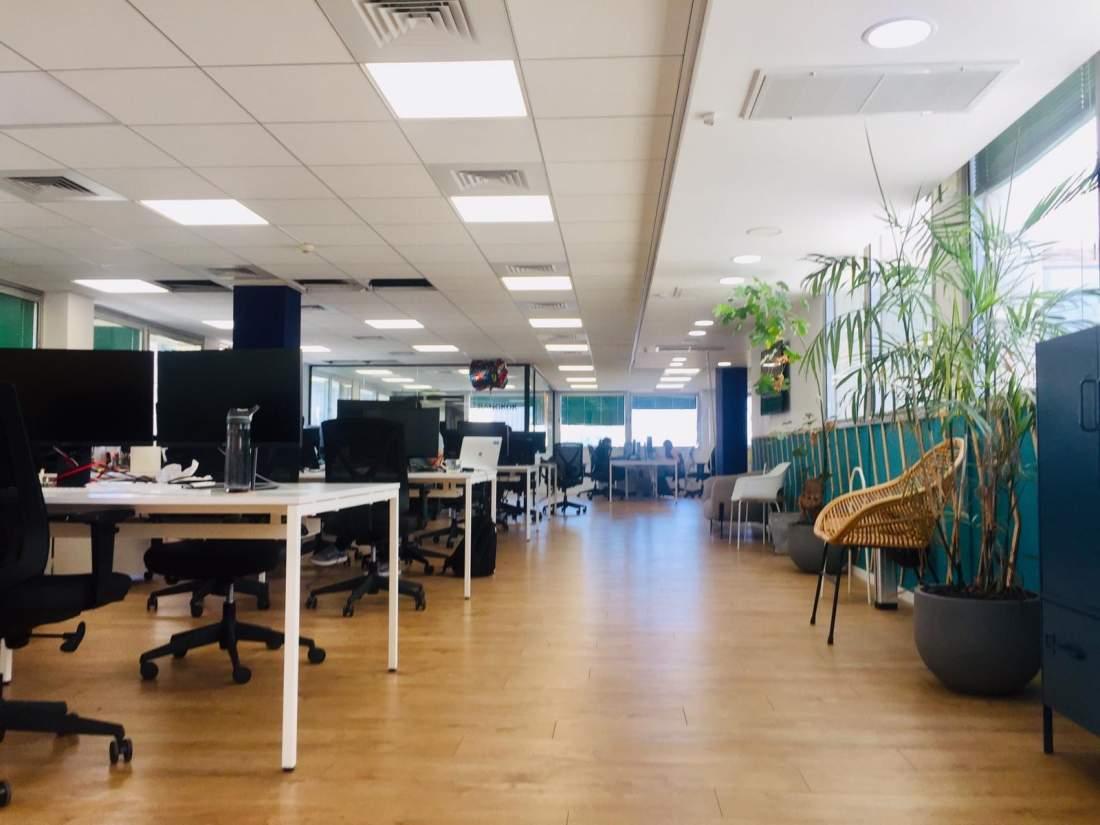 משרדים מותאמים לחברות היי-טק במרכז תל אביב