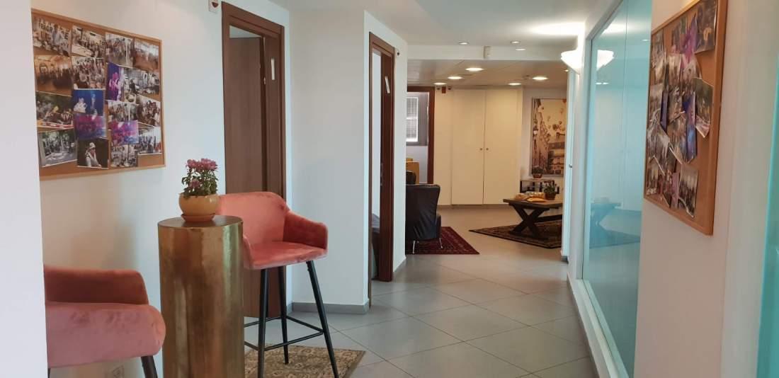משרד מעוצב ויפה במרכז העיר סמוך לרוטשילד תל אביב
